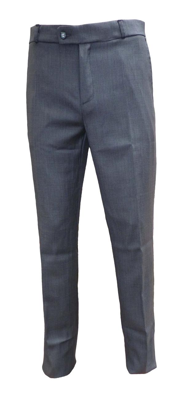 Мужские классические брюки серого цвета 46-60