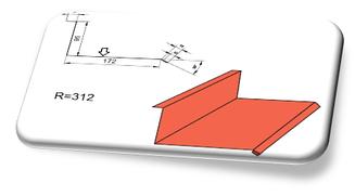 Планка стыка С-2