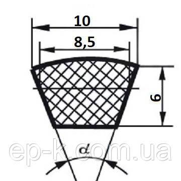 Ремень клиновой  Z (0)-950, фото 2