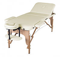 Стол кушетка для массажа, Массажный стол складной 3-х секционный DEN