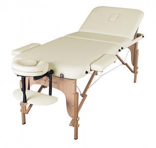 Портативный Массажный стол DEN Comfort Светло-бежевый (складной)