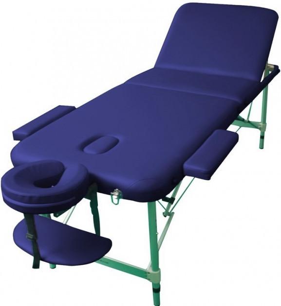 Складной массажный стол кушетка массажная 3-х секционная - LEO комфорт
