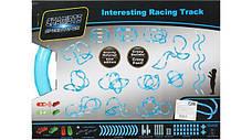Гоночный трек на 52 детали Игровой набор CHARIOTS Speed Pipes Трубопроводные гонки , фото 3