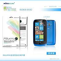 Защитная пленка Nillkin для Nokia Lumia 610 глянцевая