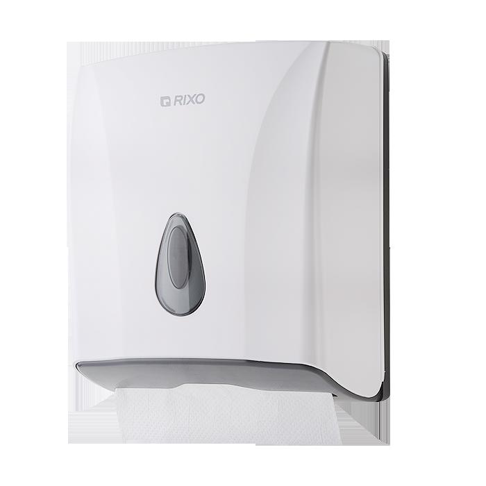 Диспенсер бумажных полотенец Rixo Maggio P228W для листовых бумажных полотенец V сложения