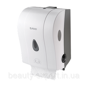 Напівавтоматичний диспенсер для рулонних паперових рушників Rixo Maggio P088W