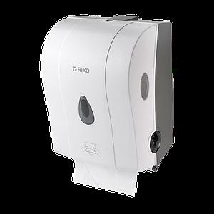 Полуавтоматический диспенсер для рулонных бумажных полотенец  Rixo Maggio P088W