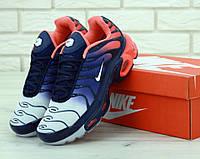 Кроссовки Nike Air Max Tn Plus Navy Blue Red, фото 1