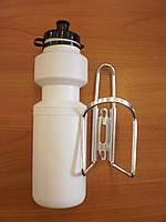 Бутылочка с креплением на велосипед