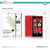 Защитная пленка Nillkin для Nokia Lumia 720 глянцевая