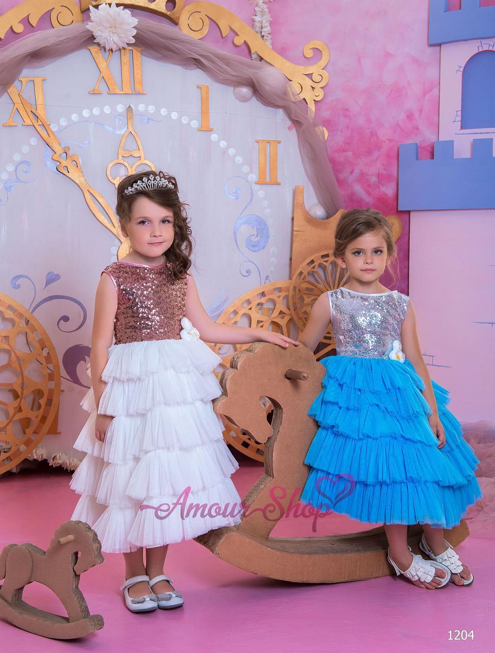 Vip детское нарядное/ вечернее/ выпускное  платье 1204