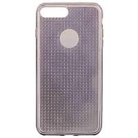 Накладка для iPhone 7 Plus/iPhone 8 Plus силикон Diamond Shine Черный, фото 1