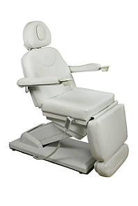 Кресло-Кушетка автоматическая косметологическая регулируемая (4-ре электромотора) цвет белый