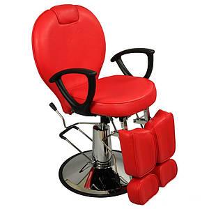 Кресло для педикюра с раздельной подножкой на гидравлике компакт ZD-346
