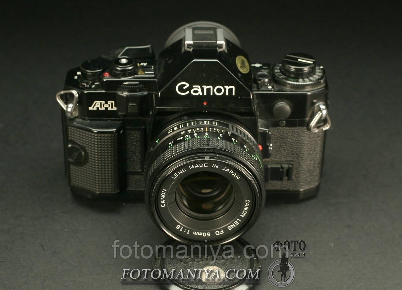 Canon A-1   Canon nFD 50mm f1.8