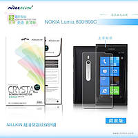 Защитная пленка Nillkin для Nokia Lumia 800 глянцевая