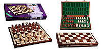 """Шахматы """"Royal-44"""" brown"""