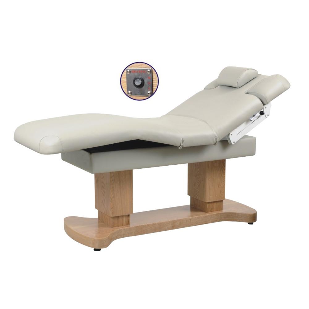 Массажный стол стационарный электрический кушетка для массажа с подогревом для СПА салонов ZD-866HN