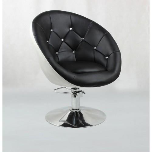 Крісло для клієнта перукаря HC-8516H на гідравліці