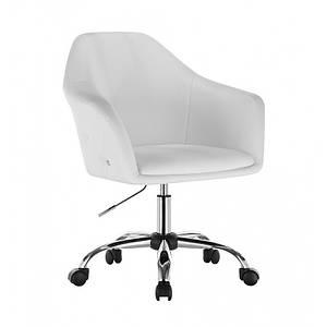 Парикмахерское кресло для клиентов, Кресло мастера НС 547К белый
