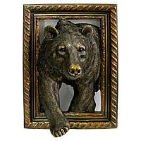 """Панно """"Медведь"""", 34*47см"""
