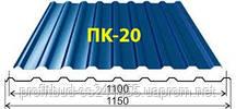 Профнастил ПК-20 покрівельний 0,4 мм Індія