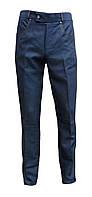 Мужские брюки синего цвета 44-60 размер, фото 1