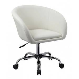 Стул мастера, кресло для маникюра HC-8326K белый