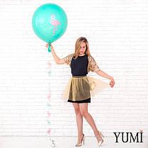 Воздушный гелиевый шар-гигант мини с декором, фото 3