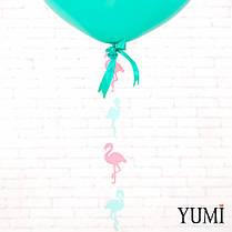 Воздушный гелиевый шар-гигант мини с декором, фото 2