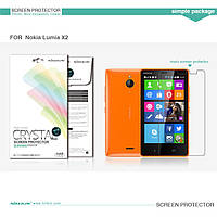 Защитная пленка Nillkin для Nokia X2  глянцевая