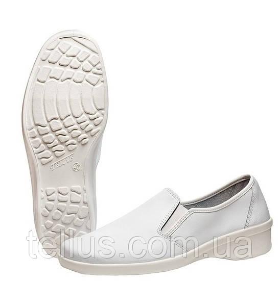Туфли рабочие женские кожаные