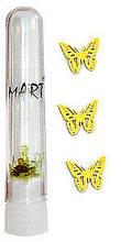 """Логотипы в пробирке Mart  """"Бабочка"""""""