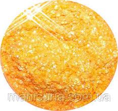 Жидкая слюда в пробирке МАРТ ,Нежно-оранжевая