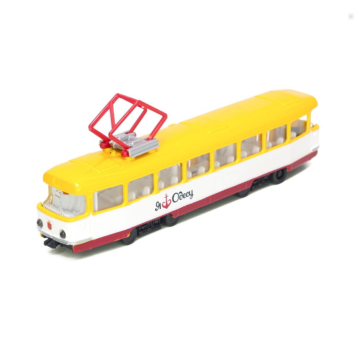 Модель Технопарк Городской трамвай Одесса (SB-17-16WB-O)