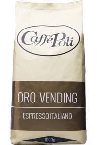 Кофе в зернах Poli Oro Vending 1 кг