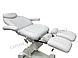 Крісло для педикюру,Кушетка для педикюру електрична СН-2017-2 white, фото 3