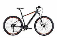 """Горный велосипед LEON XC 70 AL HDD AM 27.5""""(серо-оранжевый)18r, фото 1"""