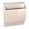 Выключатель карточный с индикацией и задержкой времени Слоновая кость Schneider Electric Unica (MGU3.540.25)