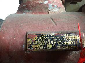 Электродвигатель 0,55 кВт 1500 об/мин взрывозащищеный , фото 2