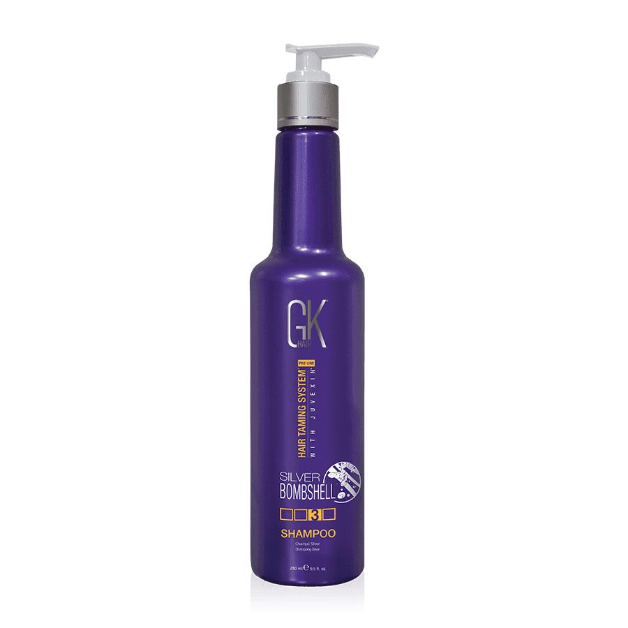 Global Keratin Silver Shampoo - шампунь для блондированных волос, 300 мл