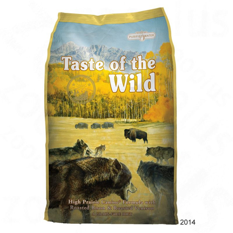 Taste Of The Wild - High Prairie Canine -сухой корм для собак 2кг - LUXPETFOOD.COM.UA - ИНТЕРНЕТ МАГАЗИН ЭЛИТНЫХ ЗООТОВАРОВ в Киеве