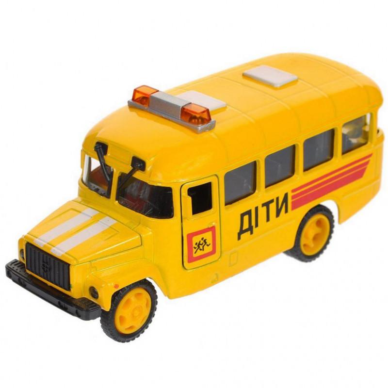 Модель авто КАВЗ детский автобус со светом и звуком Технопарк CT10-069-5