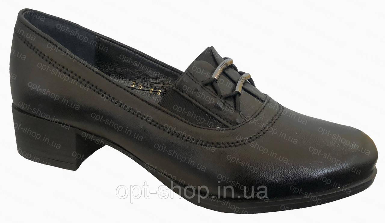 Туфли женские кожаные на полную ногу от производителя,  Туфлі жіночі шкіряні на повну ногу від виробника