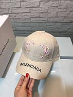 Кепка Balenciaga женская летняя с цветами