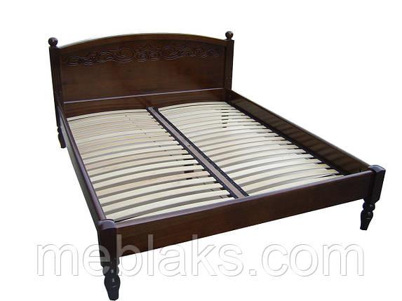 Кровать из массива   Венеция-1 (2,0Х1,6м), фото 2