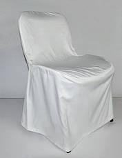 Чохол на стілець ІСО офісний з міцної легкої тканини, фото 3