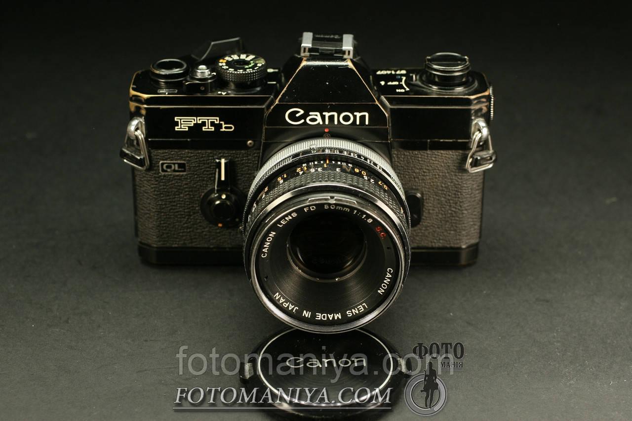 Canon FTb  Canon FD 50mm f1.8 S.S.C