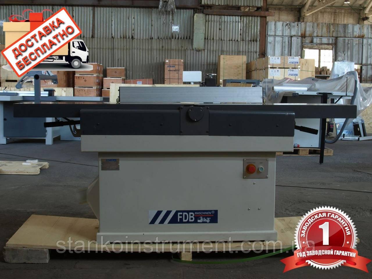 Фуговально-строгальный станок FDB Maschine MB303 фуганок 300мм