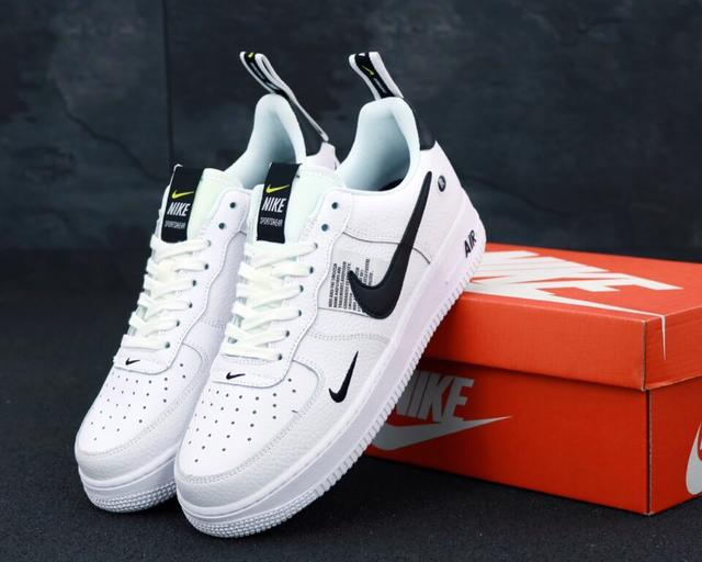 Nike Air Force 1 low white фото